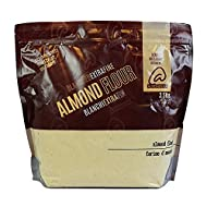 Almondena Extra Fine Premium Almond Flour (Blanched) for Baking and Cooking, 3.5 Lbs| All Natural, Vegan, Vegetarian, Paleo and Keto Friendly