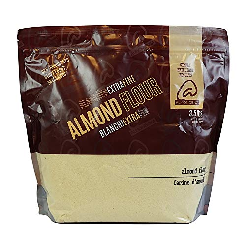 Almondena Extra Fine Premium Almond Flour (Blanched) for Baking and Cooking, 3.5 lbs | All Natural, Vegan, Vegetarian, Paleo and Keto Friendly