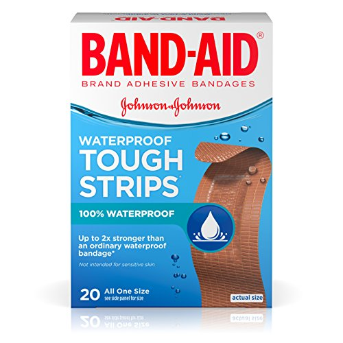 BAND-AID Waterproof Tough-Strips Ba…