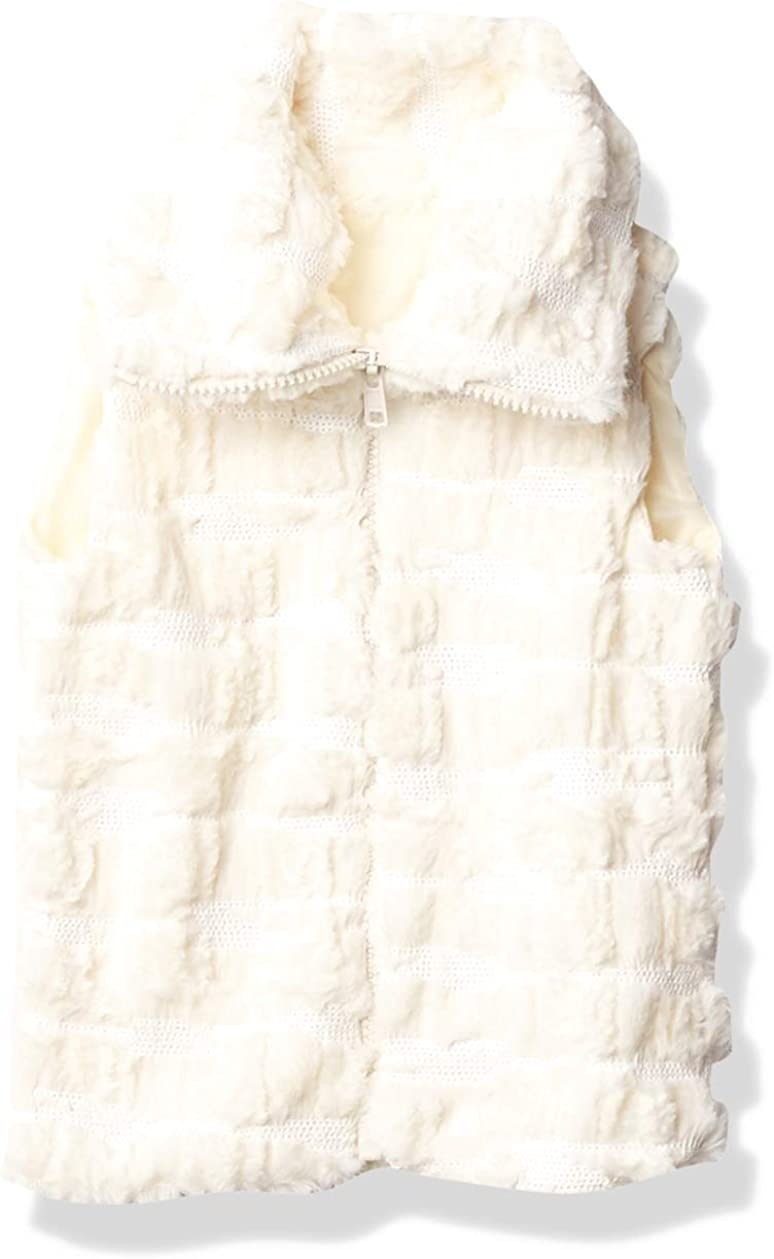 Pretty Me, USA girls Sleeveless Faux Fur Sequin Jacket