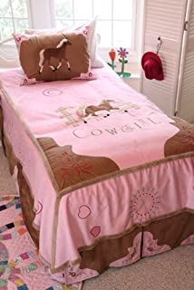 Carstens 4 Piece Cowgirl Bedding Set, Full