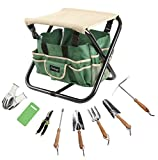 Finnhomy 10 Piece all-in-one Garden Tool Set Garden...