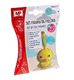 MP Set figura de fieltro pollito PM251-17 , color/modelo surtido