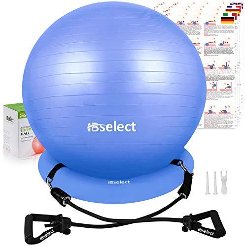 HBselect Balones De Ejercicio Fitness Pelota Pilates Embarazadas Bola De Equilibrio Fitness para Gimnasio Yoga