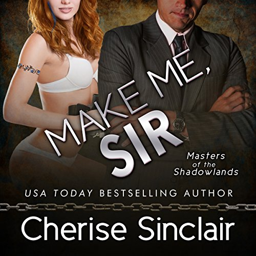 Make Me, Sir audiobook cover art