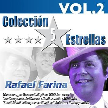 Colección 5 Estrellas. Rafael Farina. Vol. 2