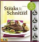 Saftige Steaks & knusprige Schnitzel: Mit 4 Steakthermometern, 5-teilige Sonderedition
