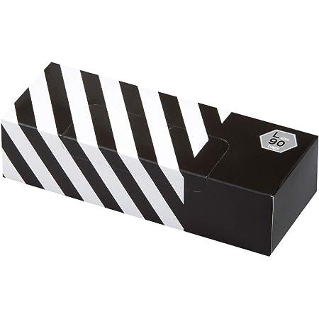 驚異の防臭袋 BOS (ボス) ストライプパッケージ/ 黒色Lサイズ90枚入 大人用 おむつ ・ ペットシーツ ・ 生ゴミ などの処理に