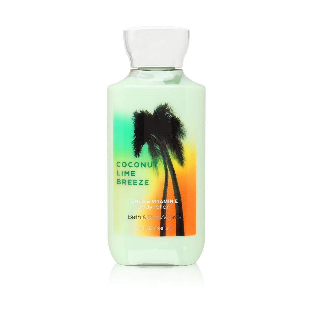 Bath & Body Works Coconut Lime Breeze Body Lotion 2x Moisture 3x Shea NEW! 8 oz / 236 mL