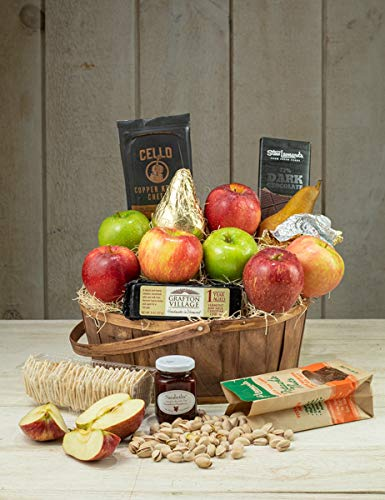 Stew's Signature Fruit & Cheese Basket