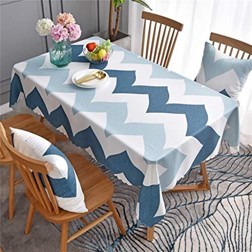 Tela de estera de mesa simple Tela impermeable Mesa desechable, mesa de centro nórdica, mesa de comedor y cubierta de silla, tela de mesa, adecuado para decoración del hogar, cocina de mesa de jardín,