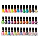 GOPINATH RETAIL Glossy Shine Summer to Spring Collection Nail Polish Fantastic Color Set Combo of 36 Pc. Multicolor Pack of 36