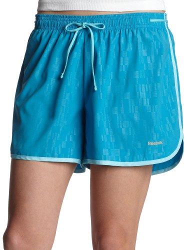 Reebok Mujer versatec 5Inch Run Short, Mujer, Azul