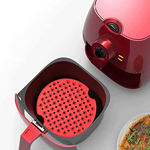 Gidenfly Hot Air Fryer Accessories, accessorio per friggitrice ad aria riutilizzabile per Ninja, Insta nt Pot, Cosori, Gowise USA e più BPA (2 confezioni da 8 pollici / 9 pollici)