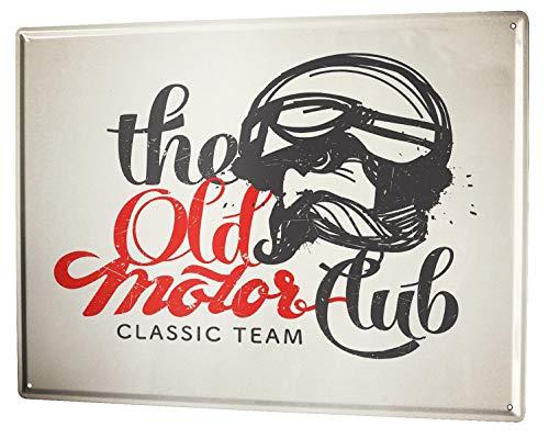 LEotiE SINCE 2004 Plaque en Métal Métallique Poster Mural tin Sign 40x30 cm Garage Moto Motorclub
