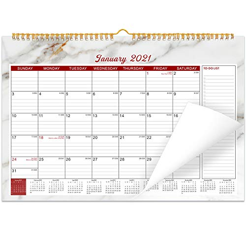 """Wall Calendar 2021 with Notes Planner 15"""" x 11.5"""" 18 Month"""