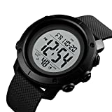 Skmei Army Digital Black Dial Sports Men's and Boy Watch - SKMEI 1426 (Black White)