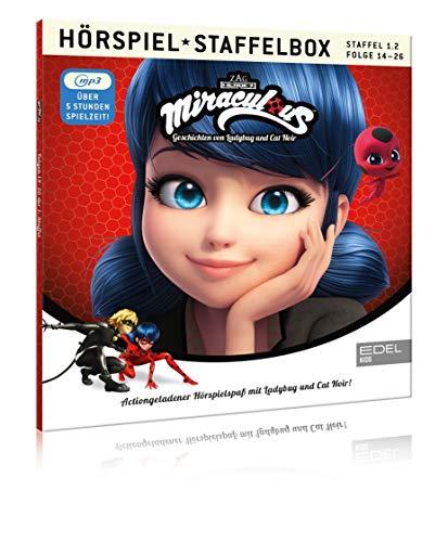 Miraculous - Geschichten von Ladybug & Cat Noir - mp3-Staffelbox 1.2 - Das Original-Hörspiel zur TV-Serie (Folgen 14 - 26)