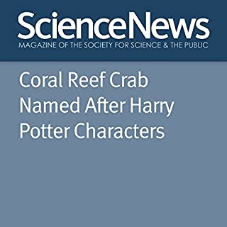『Coral Reef Crab Named After Harry Potter Characters』のカバーアート