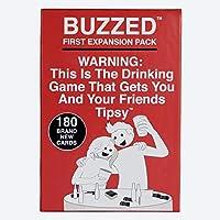 Buzzed(バズド) - あなたと友達を驚かせる愉快な酒飲みゲーム - 拡張パック#1 英語版