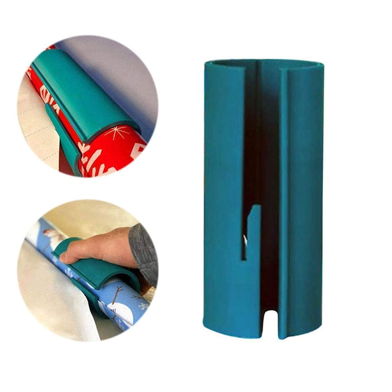 Christmas Wrapping Paper Cutter Xmas Gift Roll Wrap Paper Trimmer Cutter Cutting Tools Paper Cutters