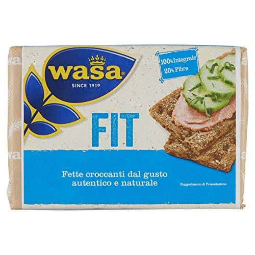 Wasa Fette Croccanti 100% Integrali Fit, Ricche di Fibre - 275 g