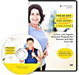 excersize programs - The 28 Day Size Down Challenge Workout DVD for Beginners and Seniors - Full Body, Low Impact Exercise and Fitness Program
