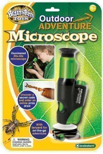 Enfants Amusement À L'extérieur Exploration Aventure Jouet Microscope A La Main Éducatif Aide