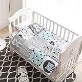 Winthome - Colcha para bebé, manta para bebé, edredón suave para cuna para...