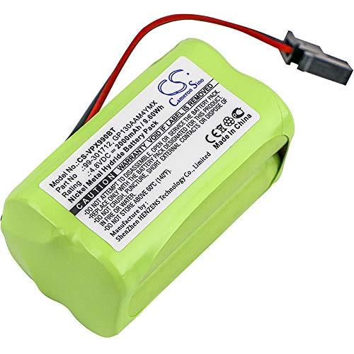 CS-VPX990BT Batería 2000mAh Compatible con [VISONIC] PowerMaster 10, PowerMax 99-301712 Control Panel, Powermax Express, PowerMaxExpress Alarm Control Panel sustituye 99-301712, GP130AAM4YMX, GP230AA