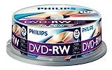 PHILIPS Dvd-RW 4.7GB - Confezione da 25...