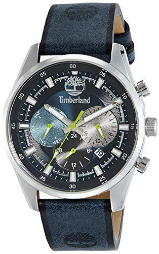 TIMBERLAND Reloj Analógico para Hombre de Cuarzo con Correa en Piel 15417JS-03