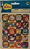 Pack of Dr. Seuss Character Themed Reward Foil Sticker Medley - 40 Stickers