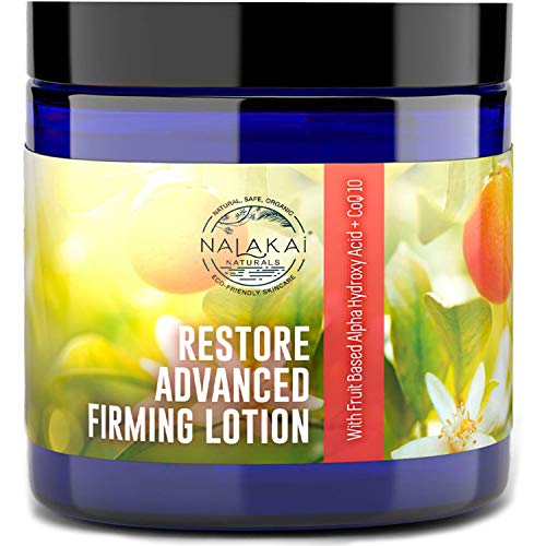 Nalakai Stretch Mark Cream for Pregnancy - Postpartum Skin Firming Cellulite Lotion - Tummy Firming Cream - Allergen Free Maternity Lotion for Bust, Bum, Belly and Thigh- 4oz