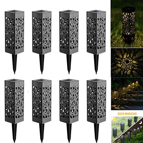 Solarlamp voor buiten, voor een unieke sfeer – ideaal voor tuin, erf en patio – zonnelamp, waterdicht, led, eenvoudige installatie, geen kabel