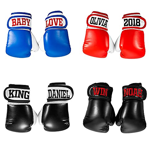 Custom Boxing Gloves for Kids - Personalized Embroidered Baby Boxing Gloves - Birthday Gift for...