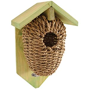 Fallen Fruits Ltd NKBS Bird House, Brown
