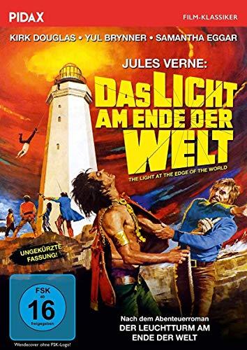 Jules Verne: Das Licht am Ende der Welt / Packender Abenteuerfilm mit Kirk Douglas und Yul Brynner (Pidax Film-Klassiker)
