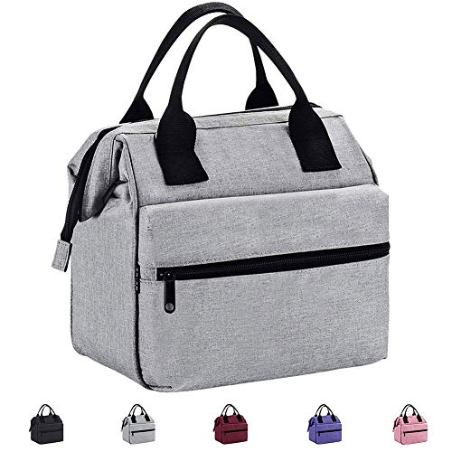 Srise Lunch Bag Insulated Lunch Box Meal Prep Lunch Tote Boxes For Men and Women