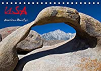 USA - American Beautys (Tischkalender 2022 DIN A5 quer): Colorful Photography (Monatskalender, 14 Seiten )