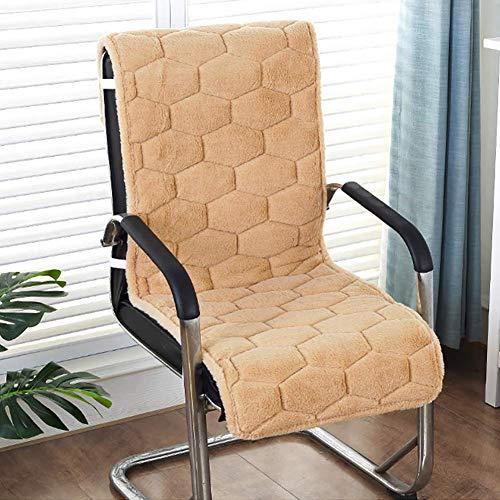 Wyxy Silla Cojín para Patio con Respaldo Alto, Gamuza Tumbona para Patio Cojín para Patio Cojines para sillas Cojín para Respaldo de Asiento Espesar Cojín para Silla de Oficina Chaise Lounge Sill
