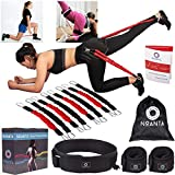 Booty Resistance Belt Bands, Resistance Bands for Legs and Butt, Leg Ankle Resistance Bands, Speed...