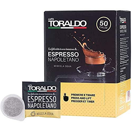 Caffè Toraldo Miscela Decaffeinato 50 Cialde
