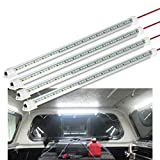 WELLUCK 12V Interior LED Light Bar, 700LM 3W DC 12V LED Light Strip with Switch for Car, Trailer, Truck Bed, Van, RV, Cargo, Boat, Cabinet, Slim Enclosed Trailer Lights Fixture, 12 Volt Led Lighting