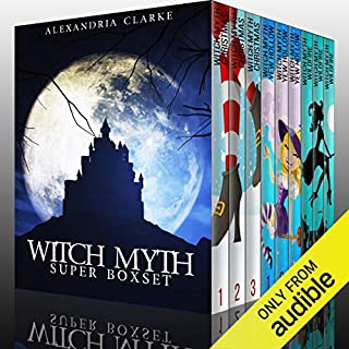 Witch Myth Super Boxset     A Collection of Cozy Witch Mysteries              Written by:                                                                                                                                 Alexandria Clarke                               Narrated by:                                                                                                                                 Tia Rider Sorensen,                                                                                        Elizabeth Lagalee,                                                                                        Jo Nelson                      Length: 35 hrs and 25 mins     1 rating     Overall 2.0