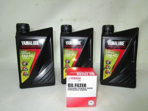 KIT TAGLIANDO YAMALUBE E FILTRO OLIO YAMAHA PER T-MAX 500 530 01-16 ORIGINALE
