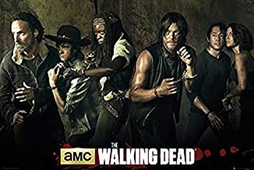 Yzqxiongtu The Walking Dead Staffel 5 Puzzle 1000 Teile, hölzerne Unterhaltungspuzzles, Puzzlespiel für Lernspielzeug für Erwachsene