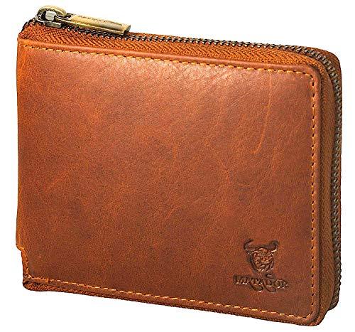 MATADOR Herren Geldbörse Portemonnaie Leder RFID Braun