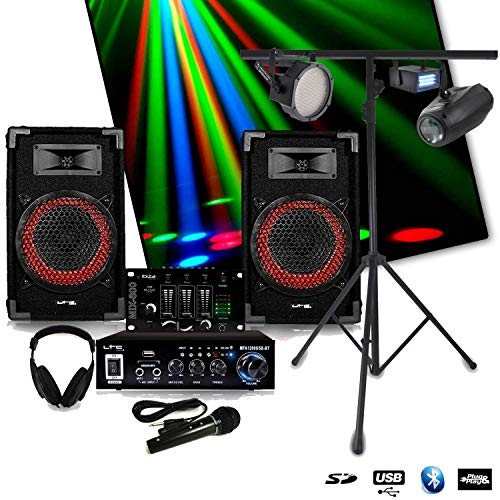 Pack SONO Complet DJ-PLAYER NIGHT + STROBE + LEDPAR + AIRSHIP