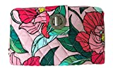 Vera Bradley Turnlock Wallet, Vintage Floral